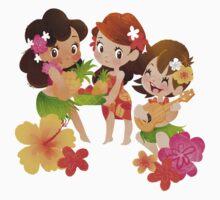 Tropical Trio Kids Clothes