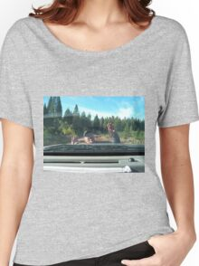 Max being goofy Women's Relaxed Fit T-Shirt