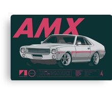 AMX Canvas Print