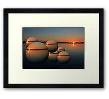 2010 Flood Framed Print