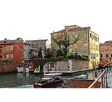 Water Garden, Venice Photographic Print