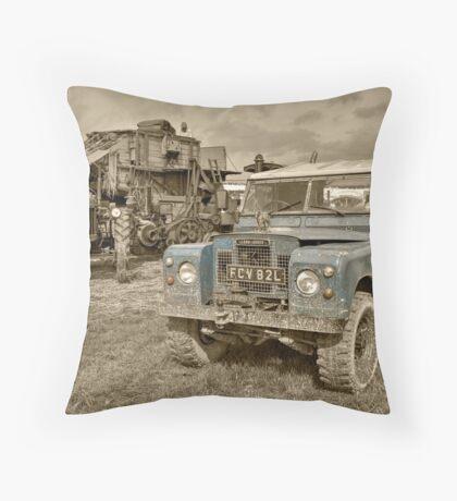 Rustic Landy  Throw Pillow