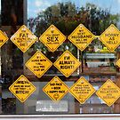 signs of the times - Dunmarra NT by Sandy Sutton