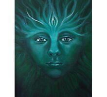Feeorin - Green Man Photographic Print