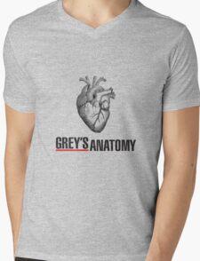 Love Grey's Anatomy Mens V-Neck T-Shirt