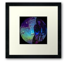Galaxy Sunny Framed Print