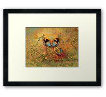 The Love Bird Framed Print
