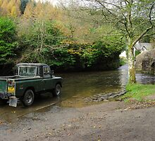 Landrover and the Ford  by Rob Hawkins