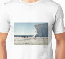 Walking at the Drygalski Ice Tongue, Antarctica Unisex T-Shirt