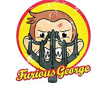 Furious George by mellowmind