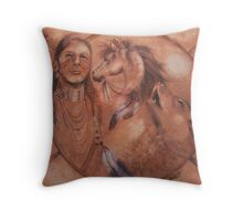 Vision Quest - initiation Throw Pillow