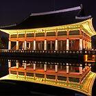 Gyeongbok Palace at Night by Jeanne Frasse