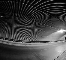 Wide angle tunnel vision by Robert Bemus