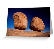 Devils Marbles, Northern Territory Greeting Card