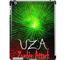 Laser Green UZA Zombie Attack. iPad Case/Skin