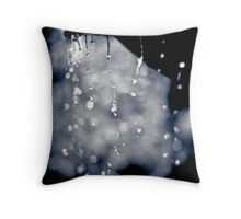 ...every day I feel the essence of you dripping away... Throw Pillow