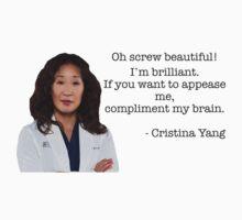 Cristina Yang Quote by KangarooZach41