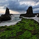 Cloudy kiama Morning by Robert Mullner