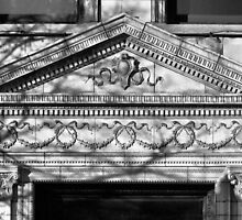 Pediment & Architrave, Central West End, St. Louis, Missouri by Crystal Clyburn
