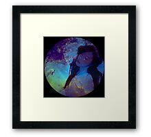 Galaxy Tiffany Framed Print