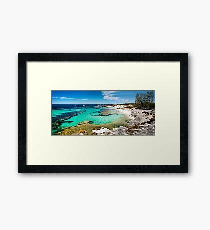The Basin, Rottnest Island Framed Print