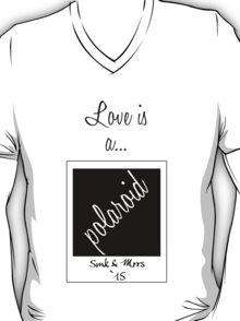 Love is a Polaroid T-Shirt