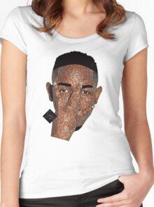 Kendrick Lamar   2015   ART  Women's Fitted Scoop T-Shirt