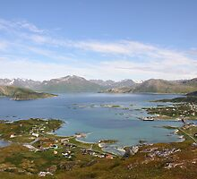 Overlook from Hillesøytoppen by itchingink