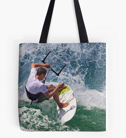 Kite Surfing at Merimbula Tote Bag