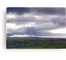 Across the Dale Canvas Print