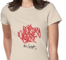 Mr Squiggle Womens Fitted T-Shirt