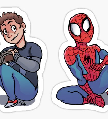 Double Life (Spider-Man/Peter Parker)  Sticker