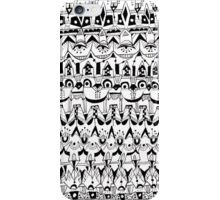 Frog Face Pattern iPhone Case/Skin