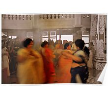 Durga Pooja Dancers  Poster