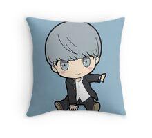 Yu Narukami (Protagonist) Chibi Throw Pillow
