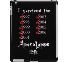 I Survived the Apocalypse iPad Case/Skin