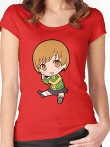 Chie Satonaka Chibi Women's Fitted Scoop T-Shirt