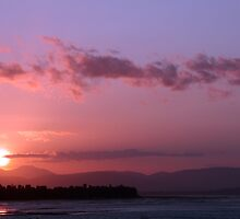Tasmanian Sunset 10 by Catherine Liversidge