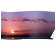 Tasmanian Sunset 10 Poster