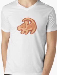 Simba Mens V-Neck T-Shirt