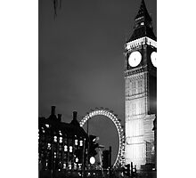 Classic shot of an amazing city Photographic Print