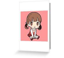 Nanako Dojima Chibi Greeting Card