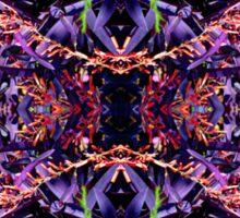 Purple Heart Spiderwort - In the Mirror Sticker