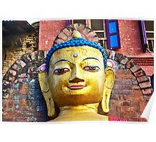 Swayambhu Buddha Poster