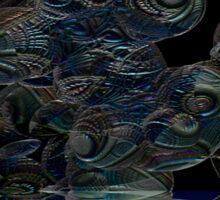 Space Chimp Invasion Sticker