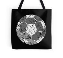 Soccer Ball with distressed look Tote Bag