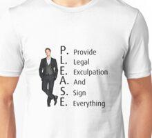Barney Stinson's Job Unisex T-Shirt