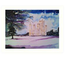 'Downton Abbey, Winter' Art Print