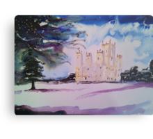 'Downton Abbey, Winter' Metal Print