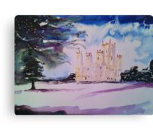 'Downton Abbey, Winter' Canvas Print